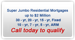 Jumbo Residential Mortgage